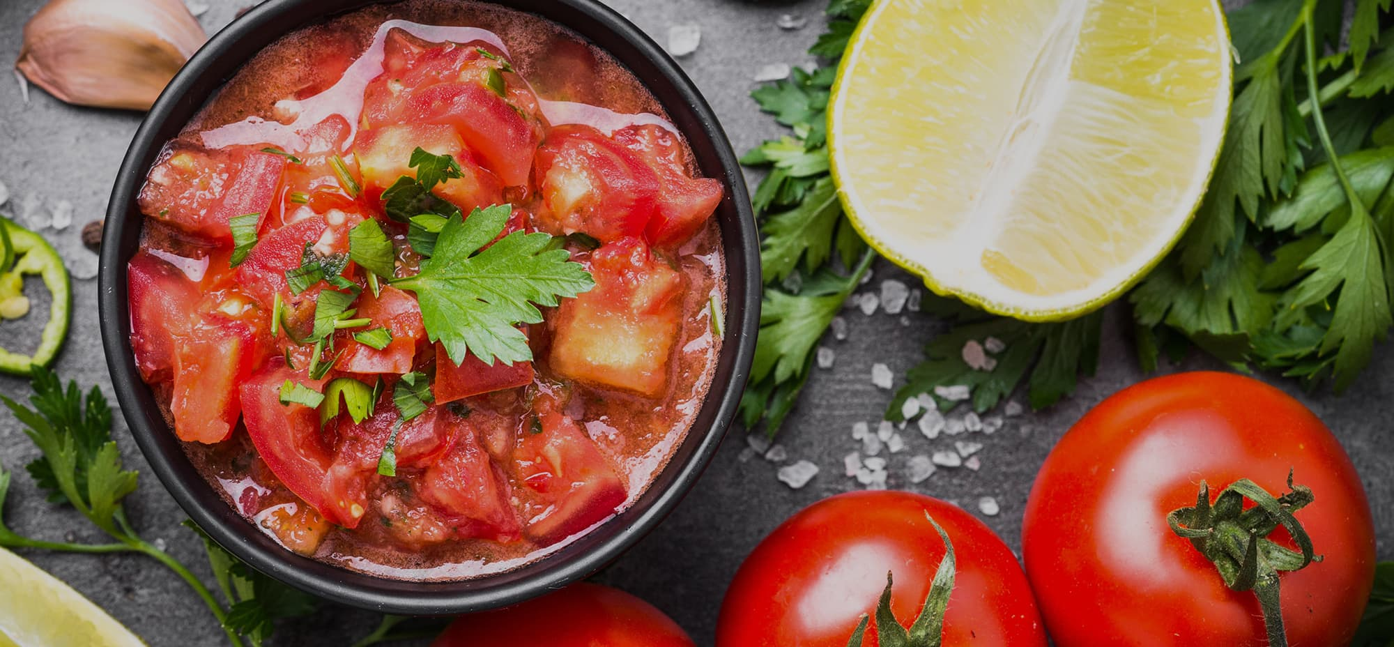 Photo is of tomato salsa